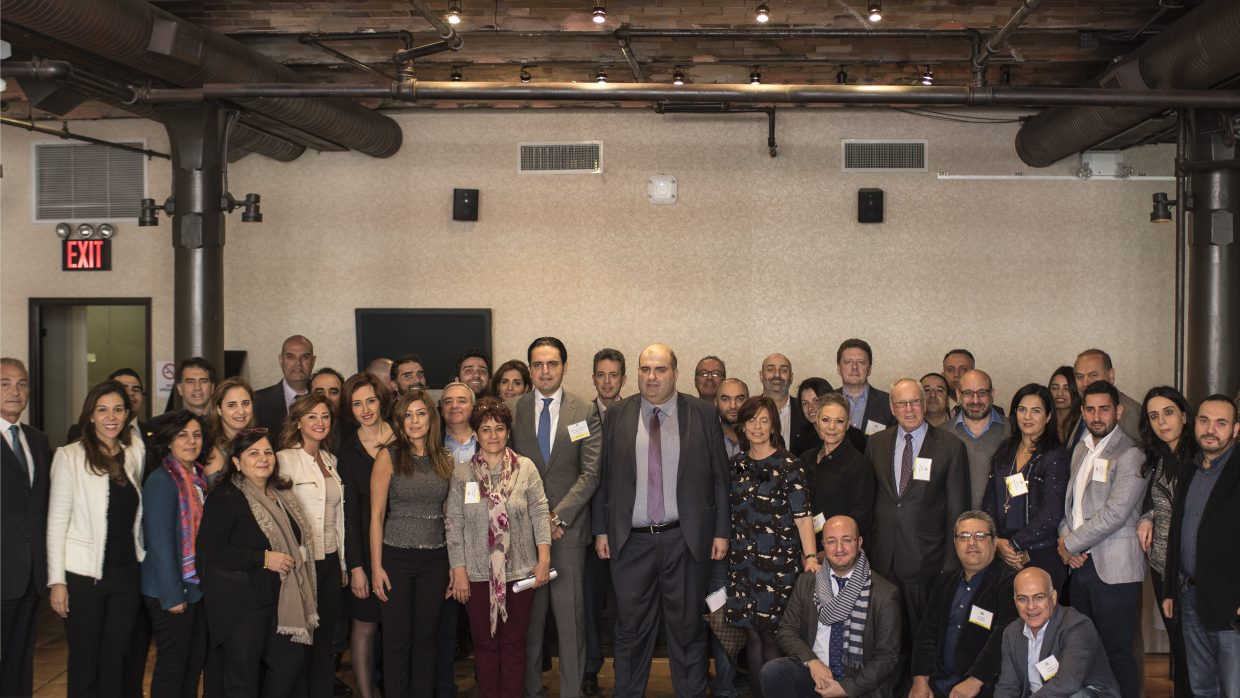 UVL partakes in the lebanese wine day in new york city – November 2016