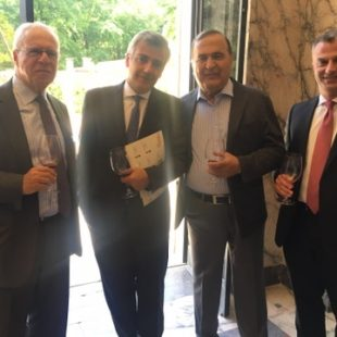 Wine tasting at the great museum in brussels, villa empain – 2017