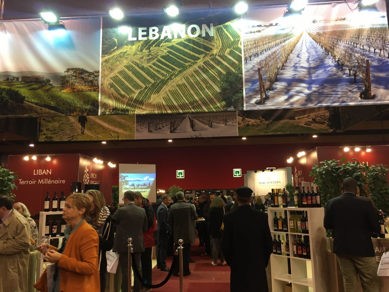"Megavino ""lebanon stands as guest of honor at the biggest wine fair in the benelux"" – October 2016"